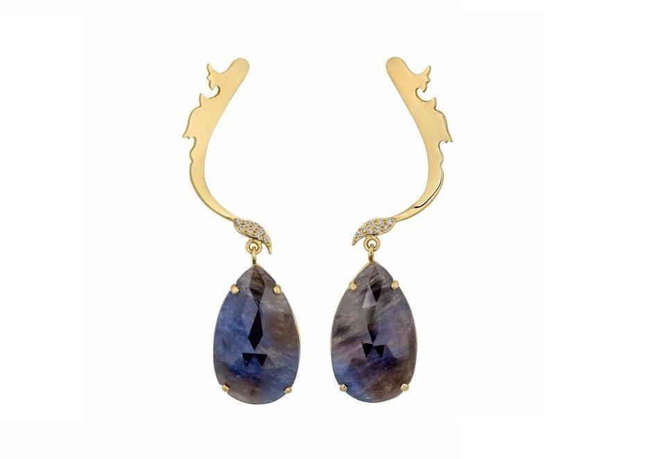Η Έλενα Συράκα & τα κοσμήματα – γλυπτά της με ζαφείρια & αμέθυστους – Φιλοξενείται στο I-D Concept Store