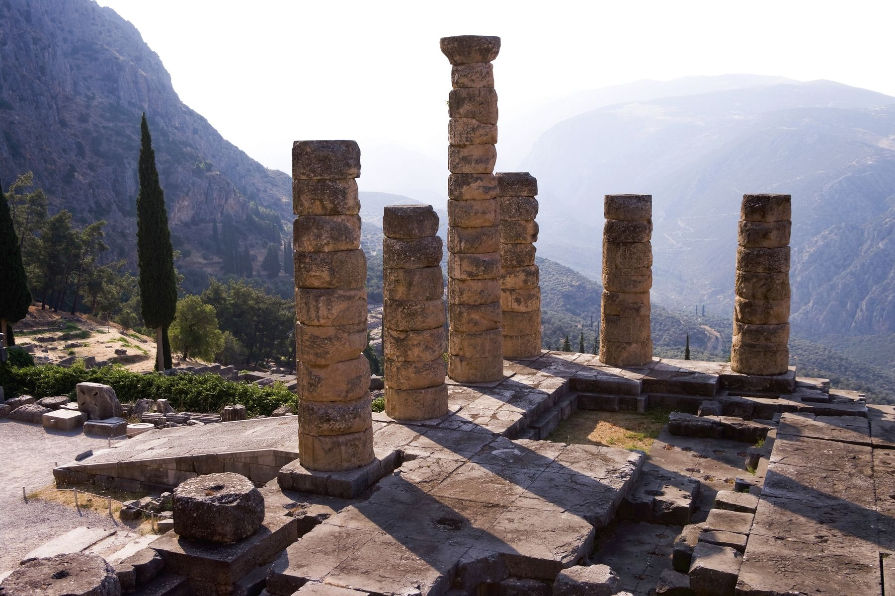 Temple Of Apollo Delfi