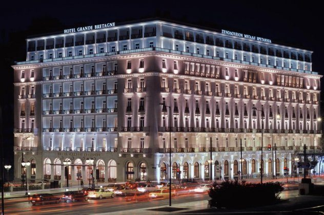 Hotel Grande Bretagne Athens Historic Building Hd