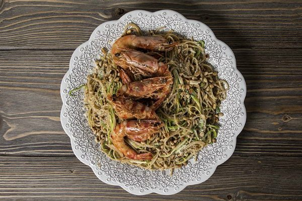 Recipe Main Spagetti Olikis Me Kolokithaki Kai Garides3 Site