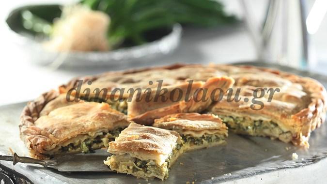 Θα σας ξετρελάνει η υπέροχη χορτόπιτα από τα Ζαγοροχώρια που έφτιαξε η Ντίνα Νικολάου