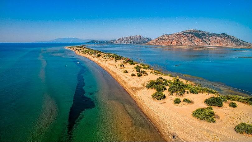 Λούρος Αιτωλοακαρνανίας  Η μεγαλύτερη παραλία της Ελλάδος με μήκος ... b12ab2ea0cc