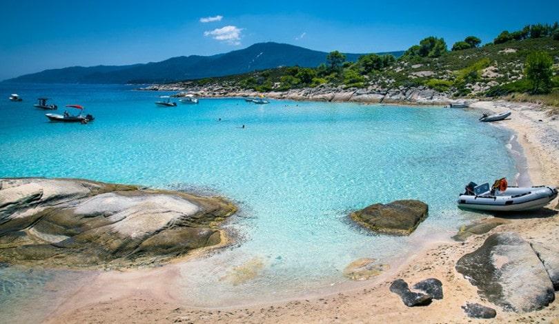 Διάπορος Χαλκιδικής: Το άγνωστο μικρό εξωτικό νησάκι της Ελλάδας