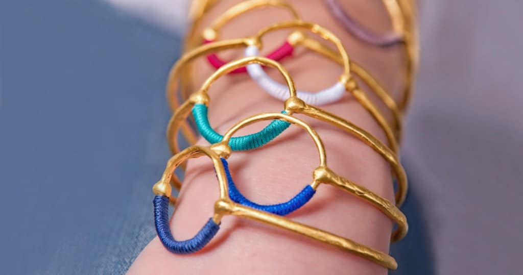 Made in Greece τα κοσμήματα - έργα τέχνης Danai Giannelli  Αβίαστη ... 2cb6cd5ea9a