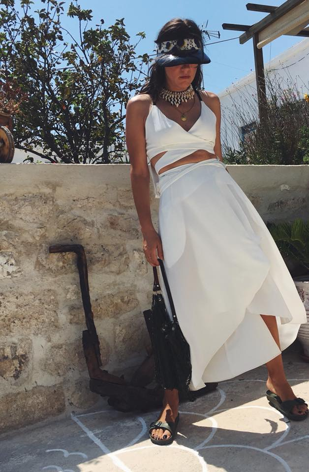 991a8fddadf7 Δέσποινα Ισοπούλου  Η fashion blogger «ξυπνά» τη φαντασία μας με τις ...