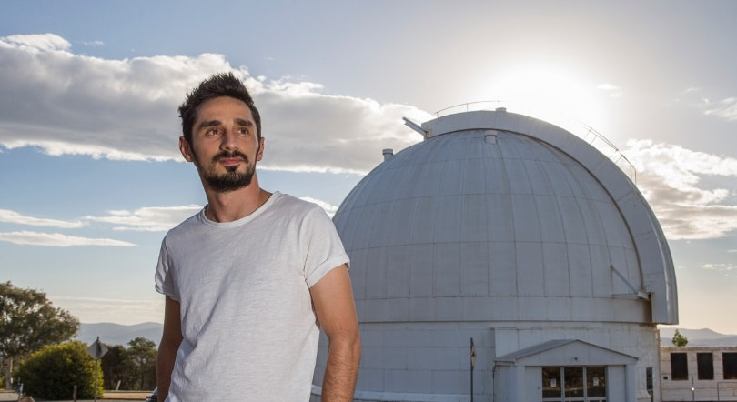 Dr Aris Tritsis, Research School Of Astronomy And Astrophysics ANU College Of Science,  At Stromlo Observatory.