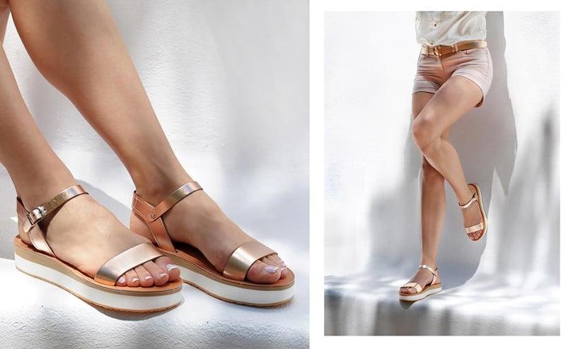 7e4eda72bfe Βρείτε την συλλογή των σανδαλιών και των υπόλοιπων παπουτσιών Savopoulos  Athens στο ηλεκτρονικό τους κατάστημα και στο facebook.