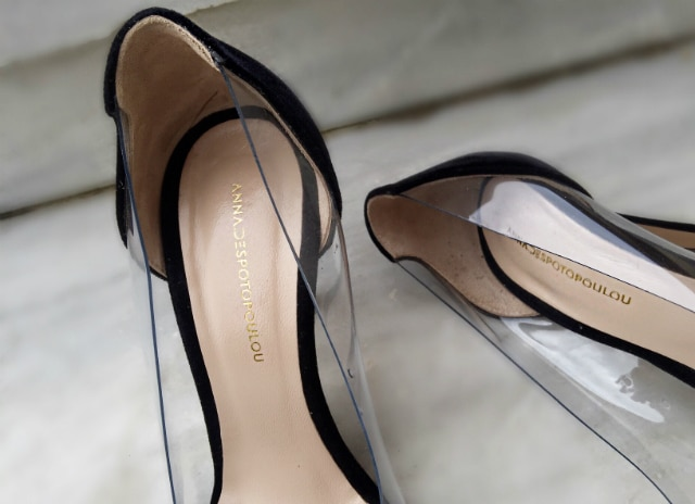 afa20e0f05 Τα παπούτσια της Άννας Δεσποτοπούλου μπορείς να τα δεις και να τα  παραγγείλεις μέσα από τη σελίδα της στο facebookκαι τοinstagram.